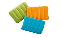 Надувная флокированная подушка Intex 68676