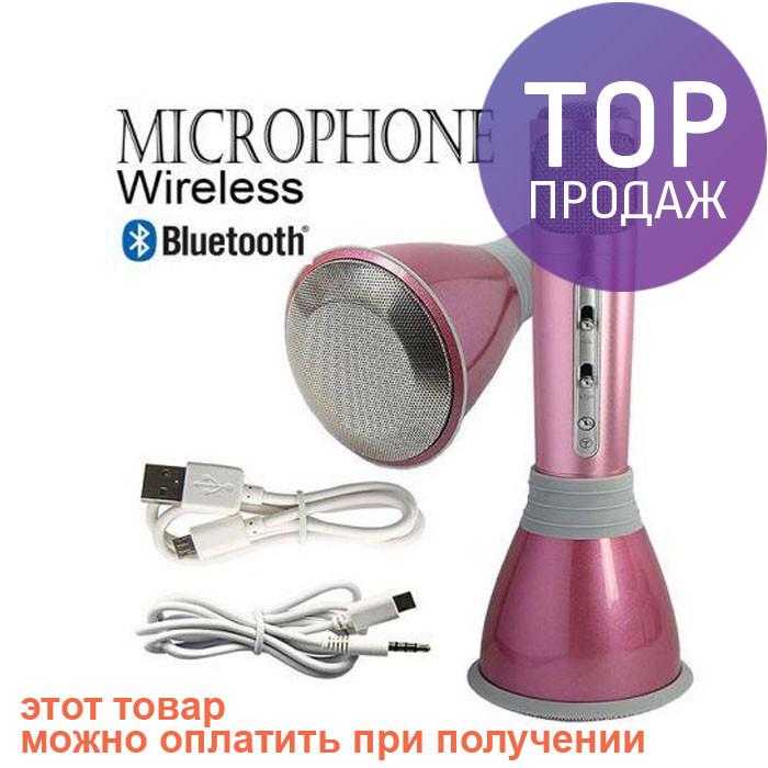599512d62f3a Беспроводной микрофон караоке bluetooth K068 аудиотехника - БРУКЛИН  интернет-гипермаркет в Киеве