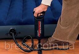 Ручной насос для надувания Intex 68612 размер 30 см объем 1.5 л, фото 3