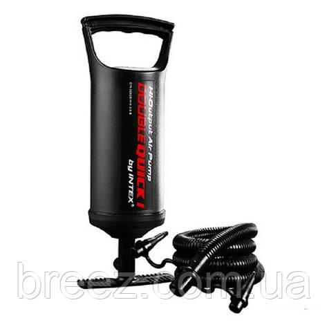 Ручной насос для надувания Intex 68612 размер 30 см объем 1.5 л, фото 2