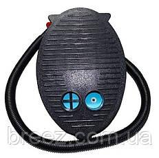 Ножной насос для надувания Intex 69611 объем 3 л, 28 см 3 насадки, фото 3