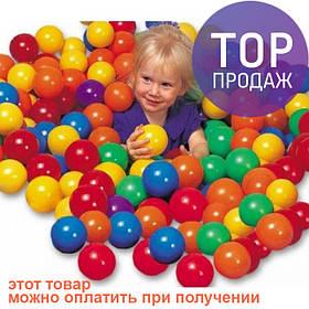 Набор мячей для игровых центров сухого бассейна Intex 49600 Fun Ballz / детские игры