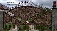 Кованые ворота 1119, фото 1