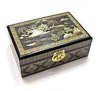 Расписная шкатулка для бижутерии