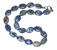 Колье ожерелье из лазурита