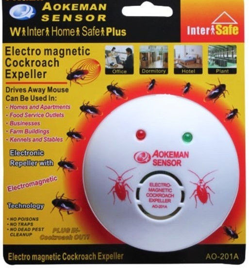 Отпугиватель от тараканов aokeman sensor ao-201a ультразвуковой отпугиватель грызунов и насекомых xl 200