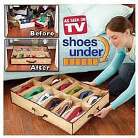 Органайзер для хранения обуви Shoes Under (Шуз Андер) на 4 отдела