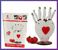 Набор кухонных ножей Kitchen Knife Shangxing А190 с подставкой на 8 предметов