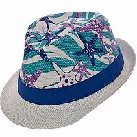Детская летняя шляпа Челентанка из соломки