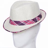 Шляпа Челентанка для детей соломенная
