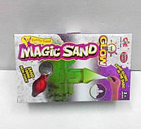 Кинетический светящийся песок MK0363 (в наборе фонарик)