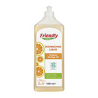 Средство для мытья посуды c апельсиновым маслом 1000 мл Friendly organic