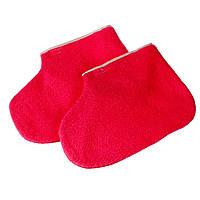 Носки махровые  2 шт/пара, розовые, голубые