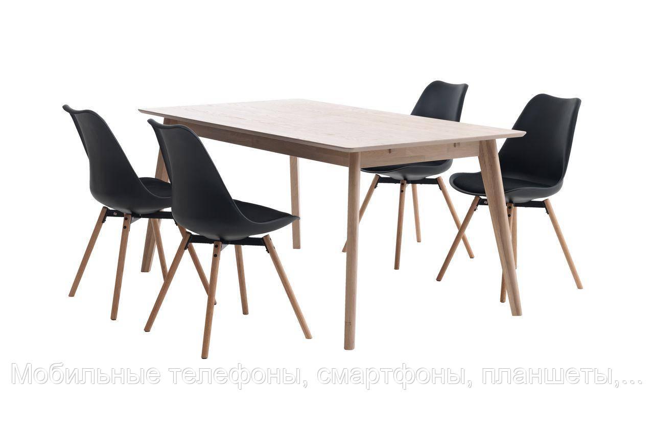 Стіл KALBY + 4 стільці KASTRUP