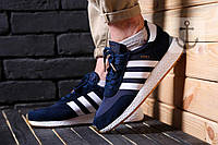 Мужские кроссовки Adidas INIKI (Адидас Иники) синие