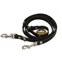 Перестежка ременная для собак черная 2,03мм*20мм