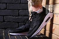 Мужские кроссовки Nike Air Max 90 Flyknit 🔥 (Найк Аир Макс Флайкнит) черно-белые