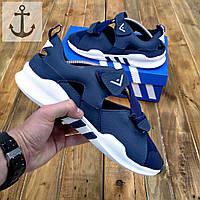 Мужские босоножки Adidas Equipment (Адидас Эквипмент) синие