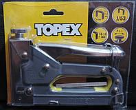 """Степлер механический строительный """"Topex"""" 4-14 мм."""