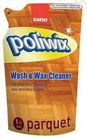 Средство для мытья полов SANO Поливикс Паркет 1л Запаска