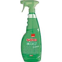 Средство для мытья окон стекла SANO Green 750мл