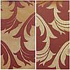 Водоотталкивающая ткань арт.1625 золото-бордо. Ш1,5 м.