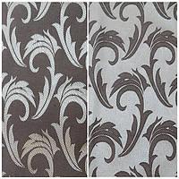 Водоотталкивающая ткань арт.1625 серебро-коричневый. Ш1,5 м.