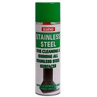 Средство для ухода за изделиями из нержавеющей стали Sano Stainless Steel Cleaner, 475мл