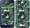 """Чехол на Samsung Galaxy A3 A300H Банановые листья """"3078c-72"""""""