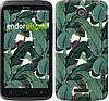 """Чехол на HTC One X+ Банановые листья """"3078c-69"""""""