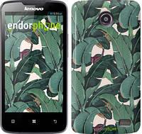 """Чехол на Lenovo A820 Банановые листья """"3078c-68"""""""