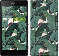"Чехол на Sony Xperia Z2 D6502/D6503 Банановые листья ""3078c-43"""