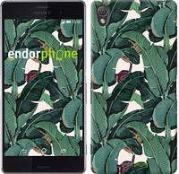 "Чехол на Sony Xperia Z3 dual D6633 Банановые листья ""3078c-59"""