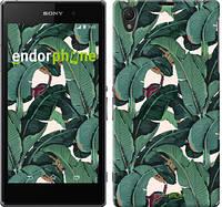 "Чехол на Sony Xperia Z1 C6902 Банановые листья ""3078c-38"""
