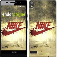 """Чехол на Huawei Ascend P6 Nike 8 """"1025c-39"""""""