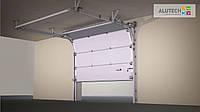Ворота гаражные секционные АЛЮТЕХ (Alutech)  Тренд (Trend)   1,875х2,25 м