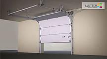 Ворота гаражные секционные АЛЮТЕХ (Alutech)  Тренд (Trend)   1,75х1,875 м
