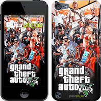 "Чехол на iPod Touch 5 GTA 5. Collage v2 ""2815c-35"""