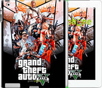 "Чехол на iPad 2/3/4 GTA 5. Collage v2 ""2815c-25"""