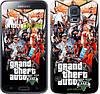 "Чехол на Samsung Galaxy S5 Duos SM G900FD GTA 5. Collage v2 ""2815c-62"""