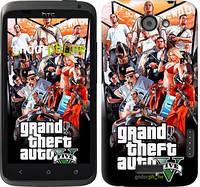 "Чехол на HTC One X+ GTA 5. Collage v2 ""2815c-69"""