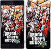 "Чехол на Sony Xperia Z3 dual D6633 GTA 5. Collage v2 ""2815c-59"""
