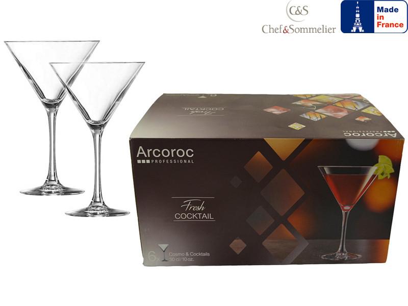 """Набор бокалов для мартини Arcoroc 300мл 6шт - интернет-магазин """"Деко"""" в Одессе"""