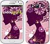"Чехол на Samsung Galaxy Grand I9082 Силуэт девушки ""2831c-66"""