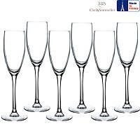 Набор бокалов для шампанского C&S Cabernet Flute 160мл 6шт
