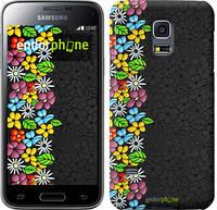 "Чехол на Samsung Galaxy S5 mini G800H цветочный орнамент ""2390c-44"""