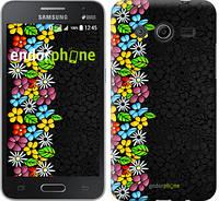 """Чехол на Samsung Galaxy Core 2 G355 цветочный орнамент """"2390c-75"""""""