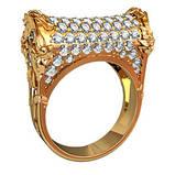 Кольцо  женское серебряное Руно  211700, фото 2