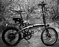 Электровелосипед раскладной 36v 500w АКБ Samsung 15400mAh