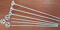 Палочки (держатели) белые  для шаров с насадкой